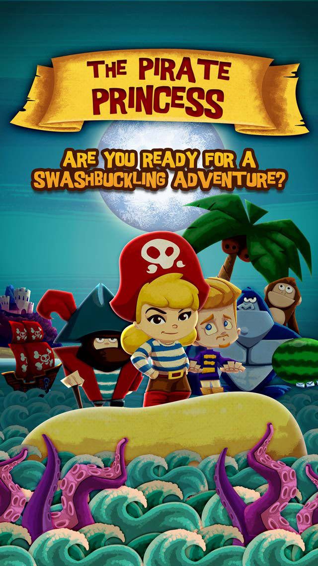 StoryToys Pirate Princess screenshot 1
