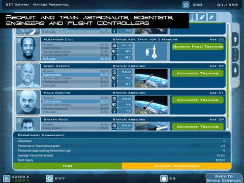 Buzz Aldrin's Space Program Manager screenshot 4