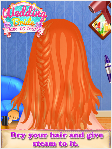 Wedding Bride Hair Do Design screenshot 6
