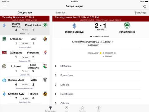 Football - Champions League Premium screenshot #2
