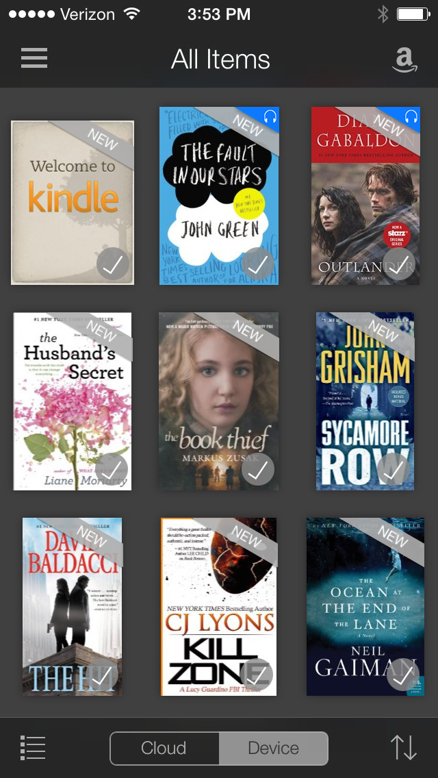 Amazon Kindle screenshot 2