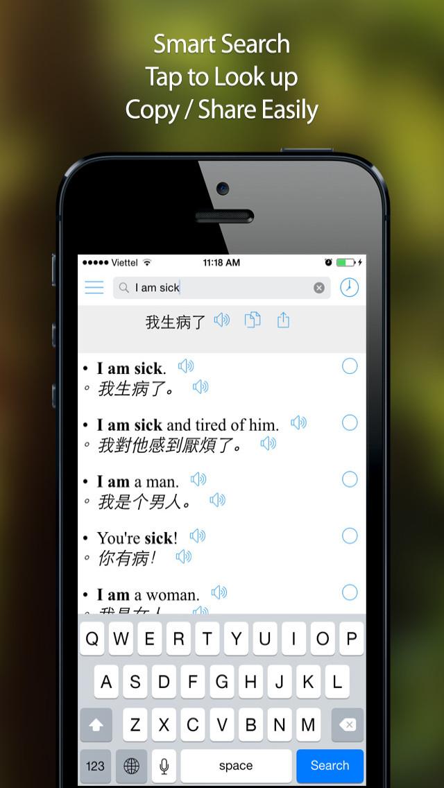 Chinese Translator Offline screenshot 5