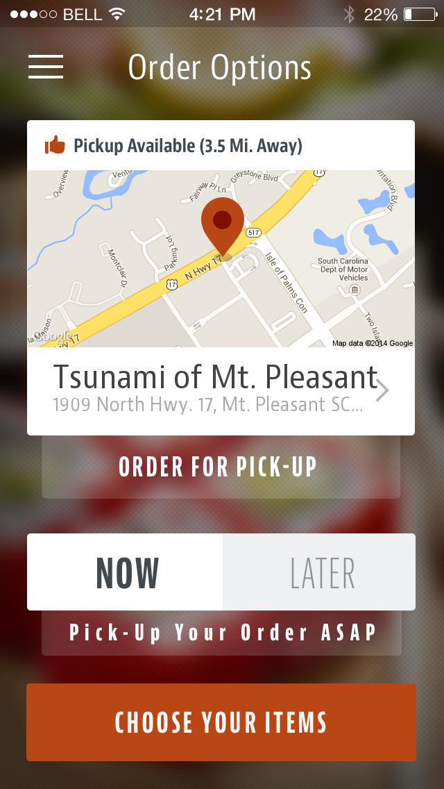 Tsunami Sushi To Go screenshot 2