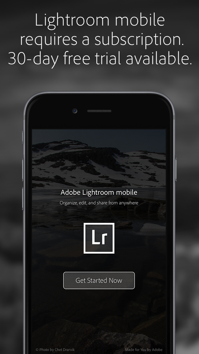 Adobe Lightroom Photo Editor screenshot 5