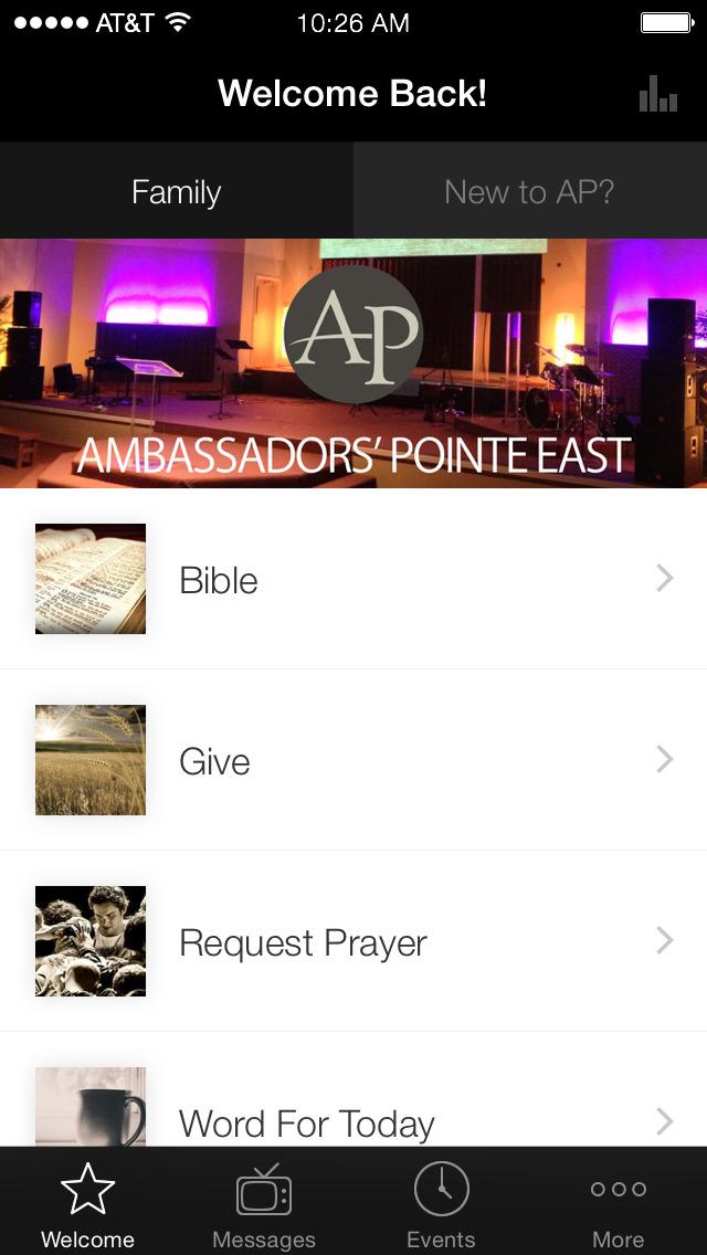 Ambassadors' Pointe Church screenshot 1