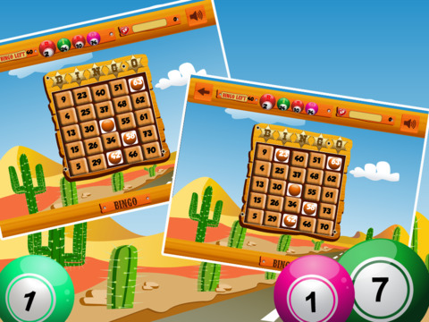 Wild West Bingo Shootout Pro screenshot 6