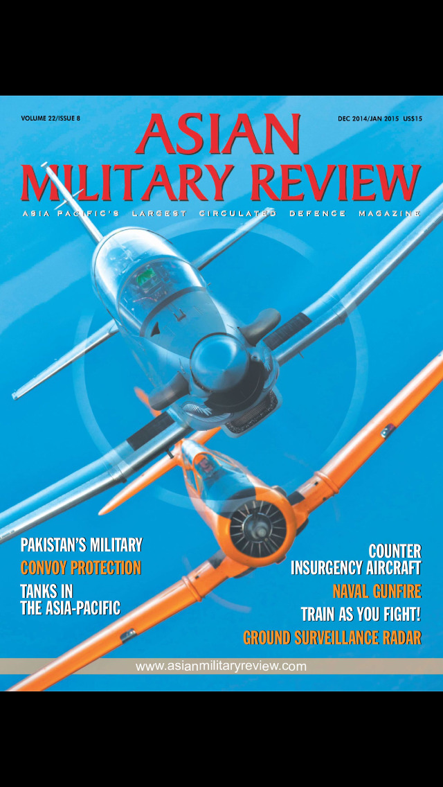 Asian Military Review screenshot 1