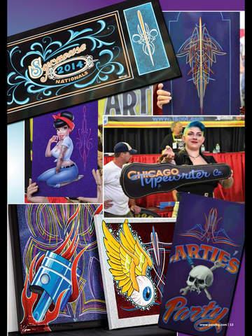 Pinstriping & Kustom Graphics Magazine screenshot 10