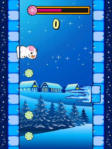 Snowman Runway Race screenshot 4