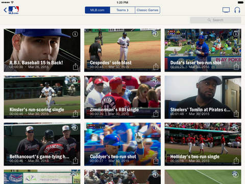 MLB At Bat screenshot 9