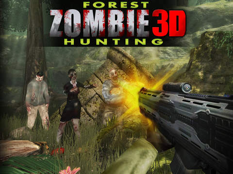 Forest Zombie Hunting 3D screenshot 10