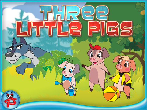 Three Little Pigs: Interactive Touch Book screenshot 6