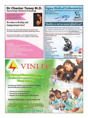 Vincy Carnival Souvenir Magazine screenshot 10