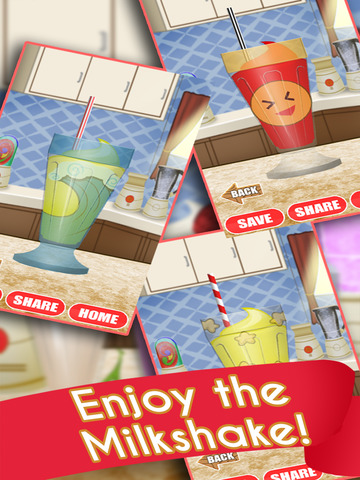 Ice Cream Milkshake Smoothie Dessert Drink Maker screenshot 8
