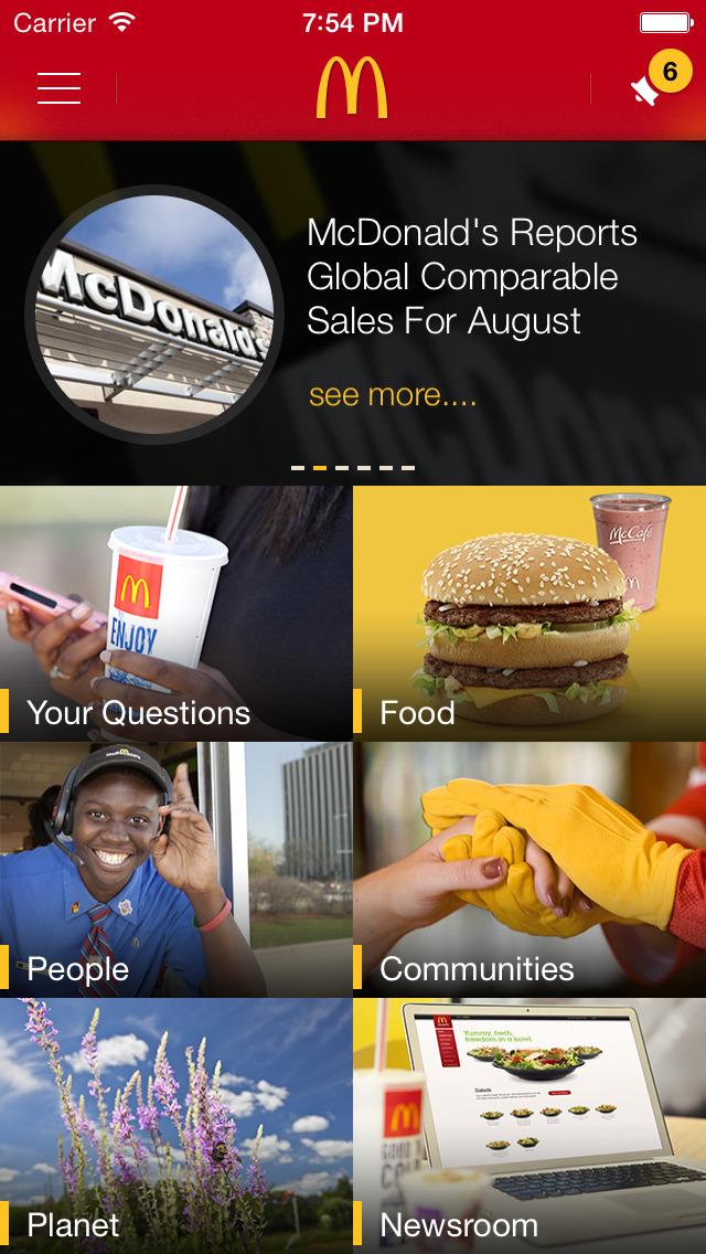 McDonald's® Ambassador screenshot 1