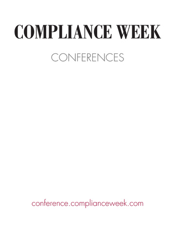 Compliance Week Conferences screenshot 4