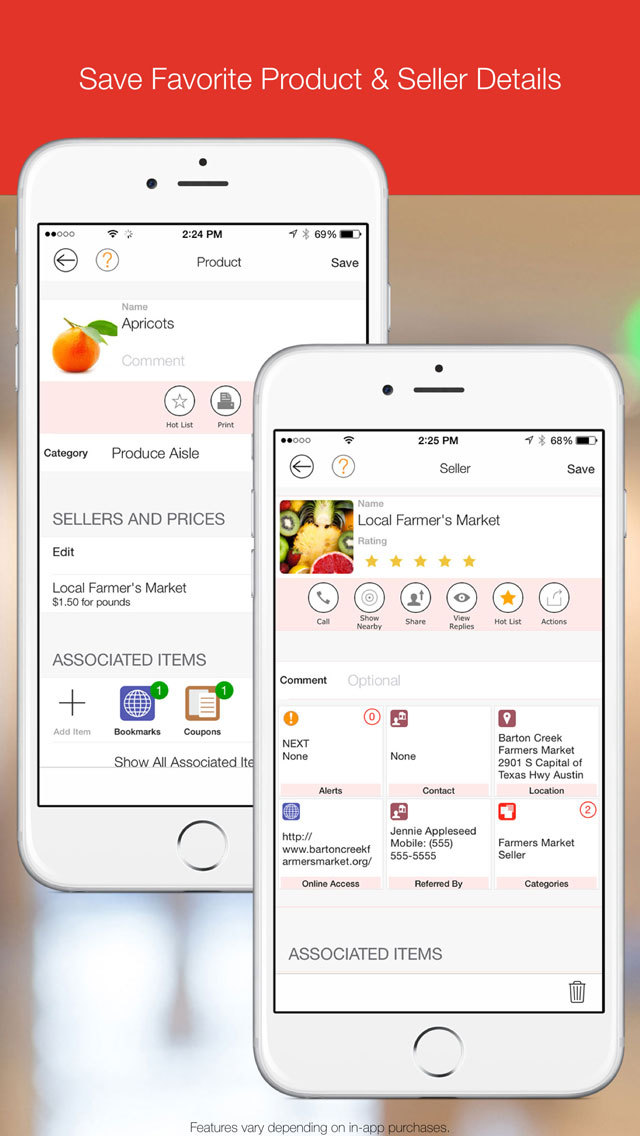 My.Shopping - Lists, Products, Sellers, Gifts, Coupons - Add Sync and Share screenshot 2
