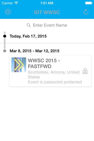 IDT WWSC - náhled