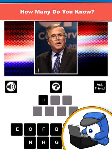 Who's The Candidate? Can you identify who's running for President of the USA? Free screenshot 10