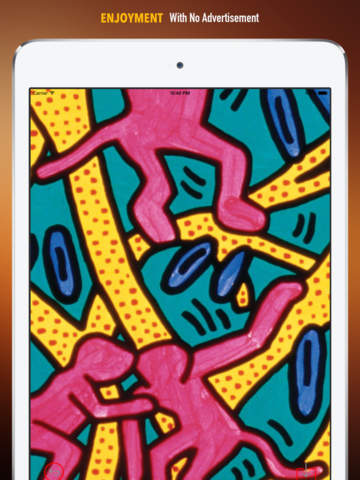 Keith Haring Paintings HD Wallpaper and His Inspirational Quotes Backgrounds Creator screenshot 7