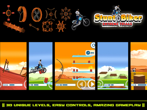 Stunt Biker Extreme Trials screenshot 6