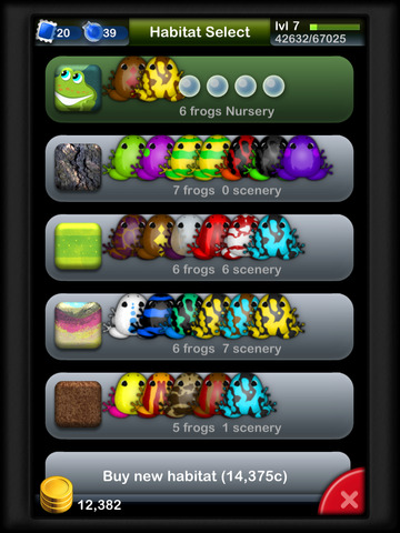 Pocket Frogs screenshot 8