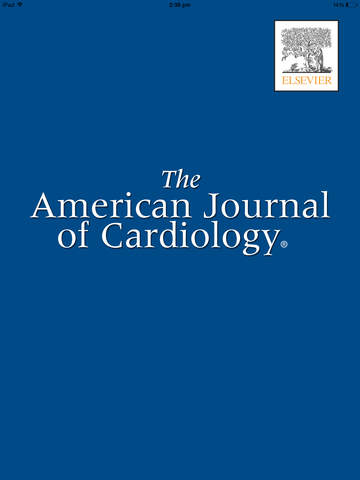American Journal of Cardiology screenshot 6