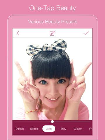 InstaBeauty - Makeup Camera! screenshot 7