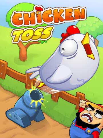 Chicken Toss - Chickens on the Run screenshot #1