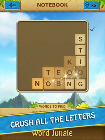 Word Jungle - Amazing Word Search Puzzle Game screenshot 7