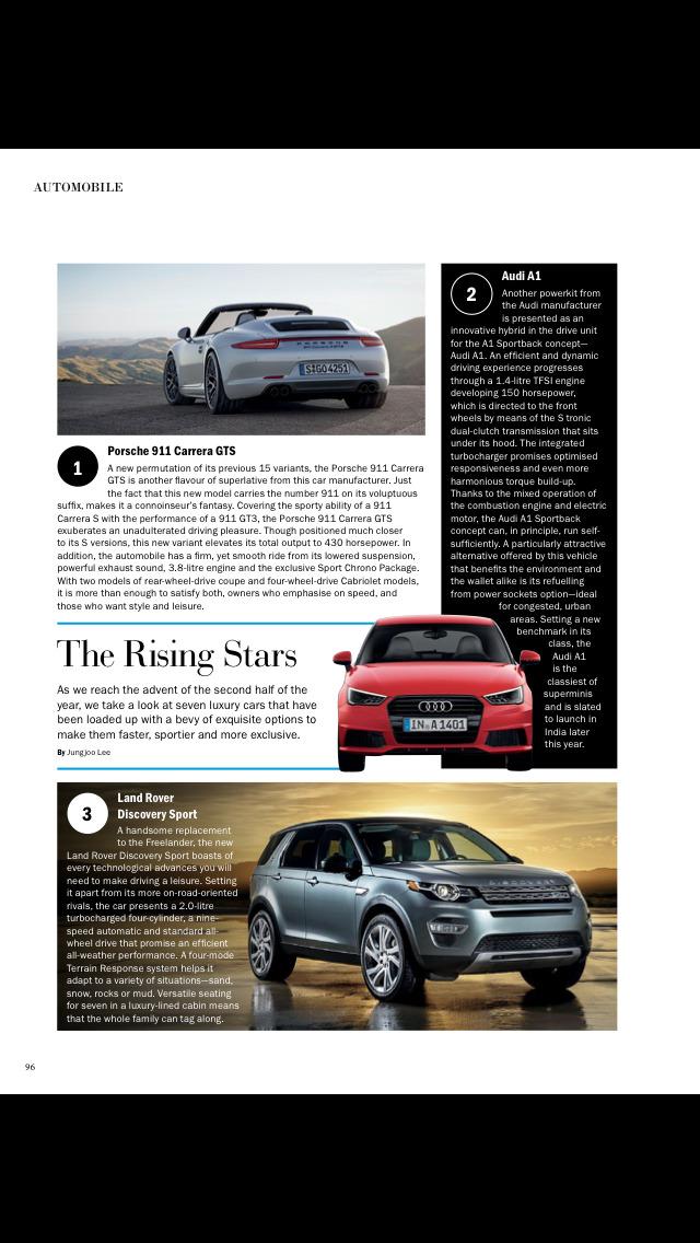 Noblesse India Magazine screenshot 4