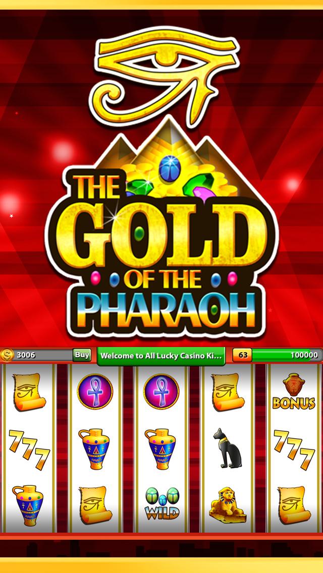 `King Caesars Jackpot Gold 777 Casino Slots - Slot Machine with Blackjack, Solitaire, Bonus Prize Wheel screenshot 3
