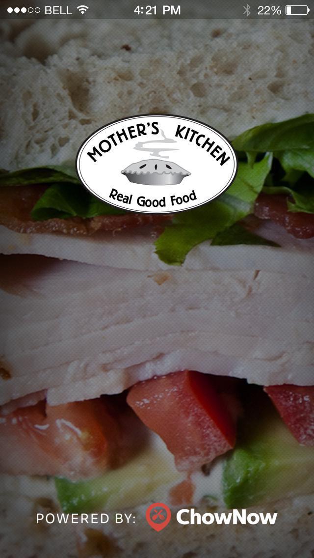 Mother's Kitchen Foods screenshot 1