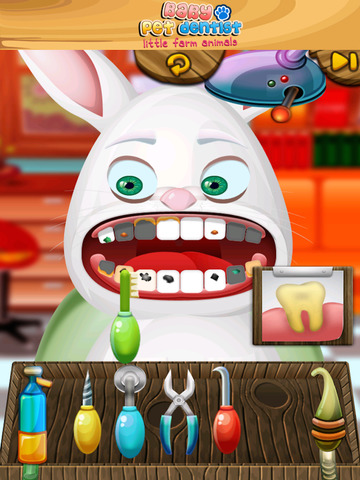 A Baby Pet Dentist Little Farm Animal Family Tooth Doctor PRO screenshot 10