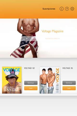 voltage magazine - náhled
