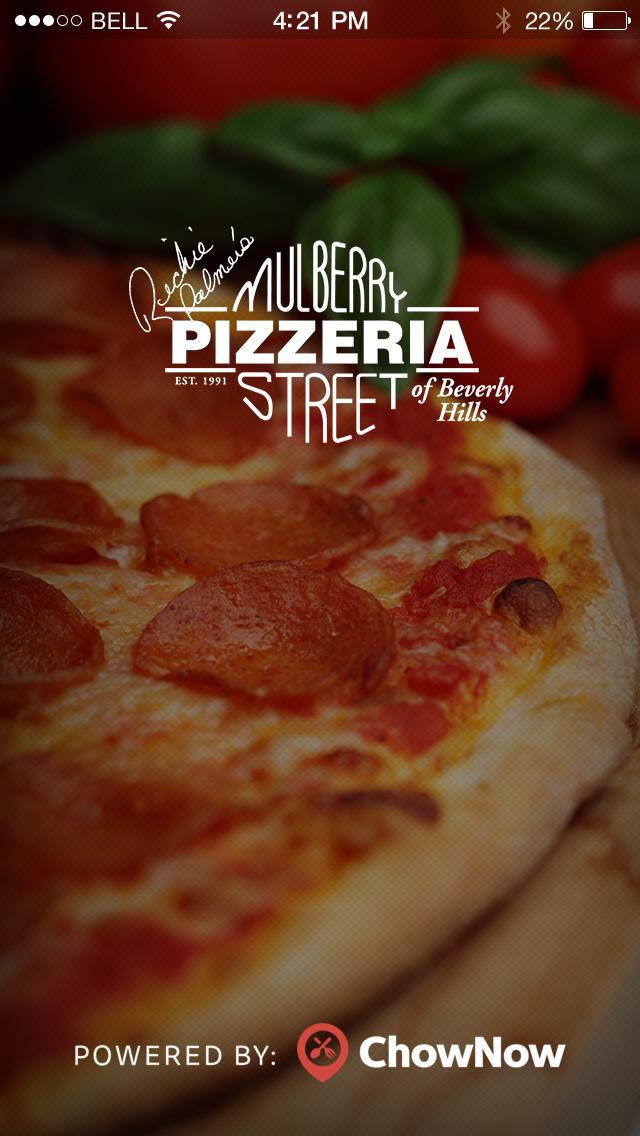 Mulberry Street Pizza screenshot 1