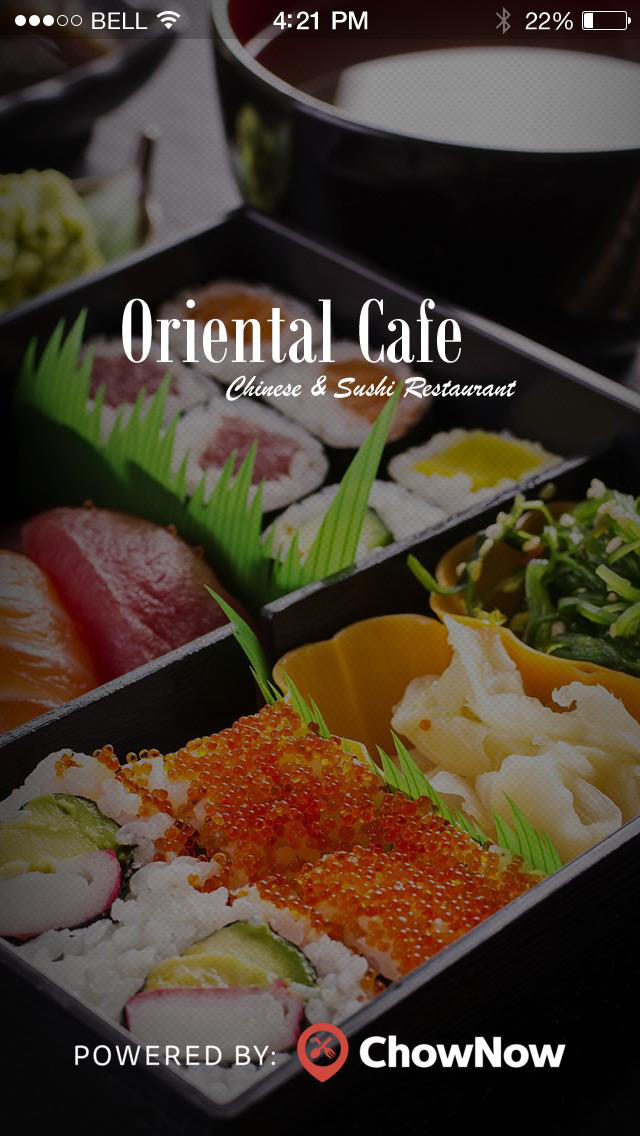 Oriental Cafe screenshot 1