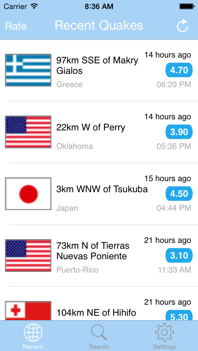 Earthquake PRO+ screenshot 2