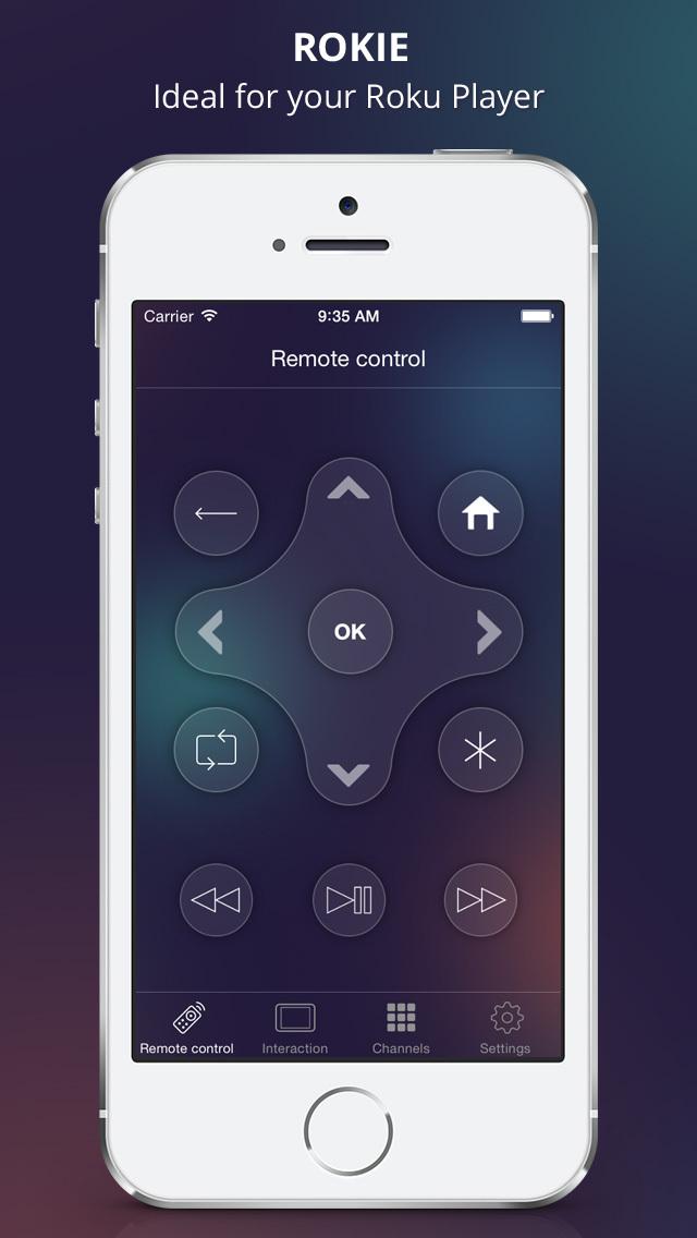 Rokie - Roku Remote screenshot 1