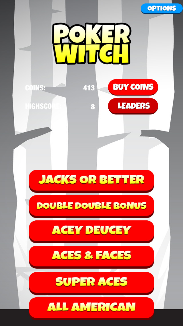Video Poker Witch: Play, Bet, Win! - FREE Edition screenshot 1