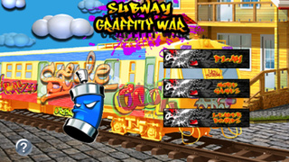Subway Graffiti War : Drops Of Burning When Touching The Skin screenshot 1