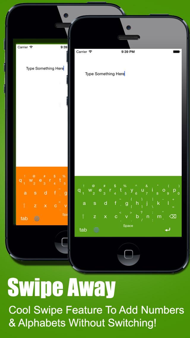 ColorKey - Custom Keyboard Colors for iOS 8 screenshot 4