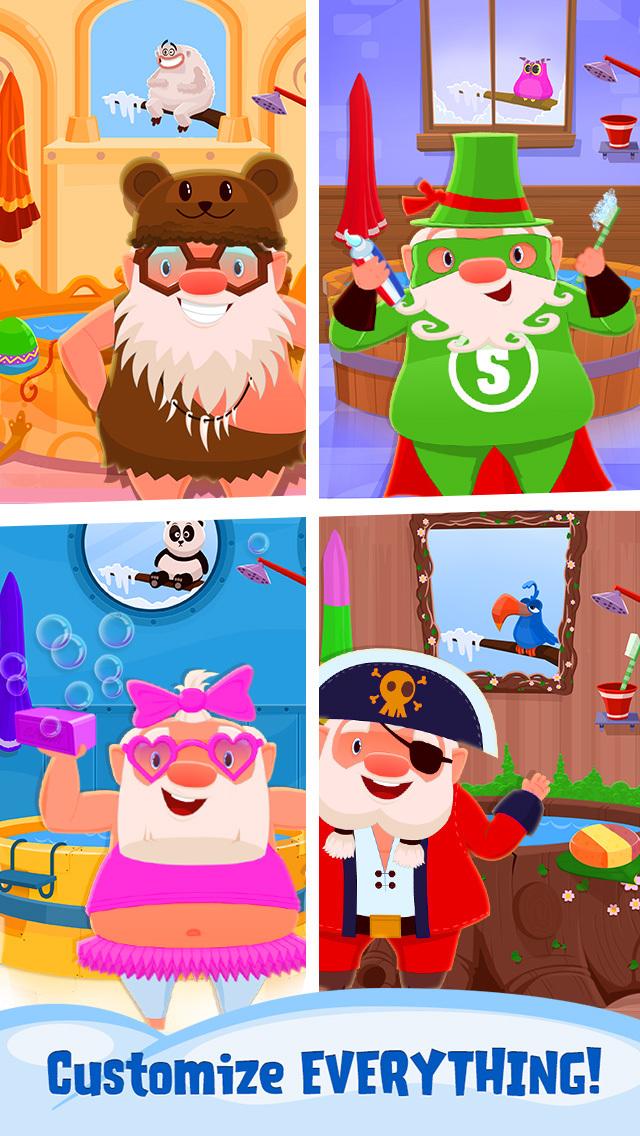 My Newborn Santa - Grow A Christmas Baby screenshot 3