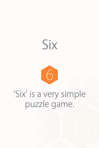 SIX - addictive number chain puzzle - náhled
