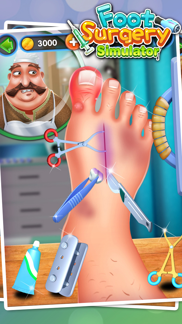 Foot Surgery Simulator - Surgeon Games screenshot 2