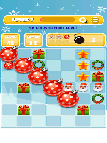 Xmas Match 4 Game screenshot 9