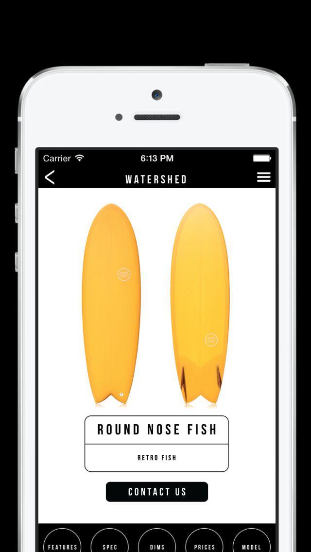 WATERSHED SURFBOARDS screenshot 2