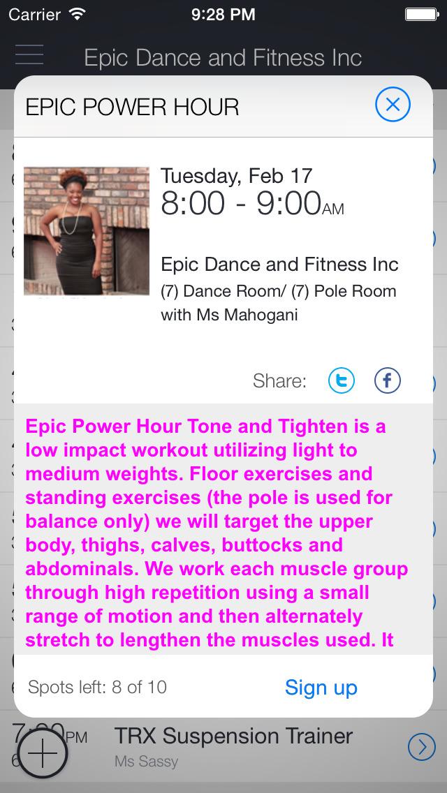 Epic Dance And Fitness Inc screenshot 2