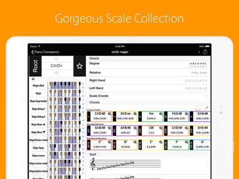 Piano Companion PRO: chords screenshot 6