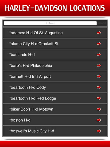Best App for Harley-Davidson Locations screenshot 7
